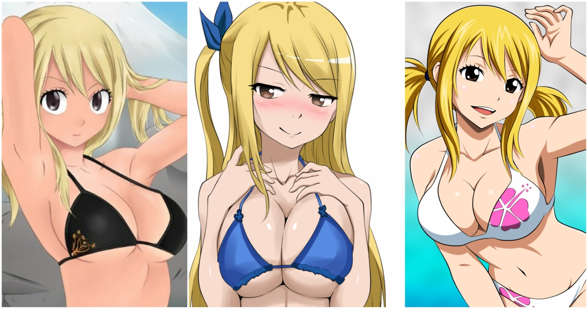 Sexy lucy fairy tail A Collection
