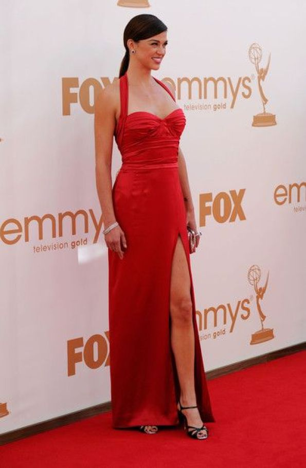 Adrianne Palicki sexy in red