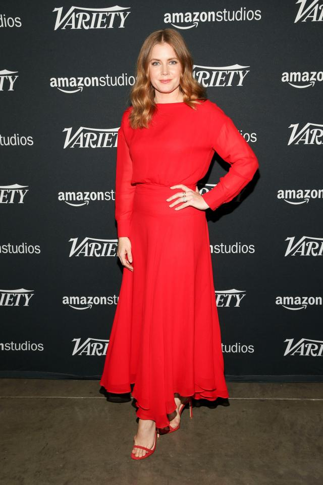 Amy Adams sexy red
