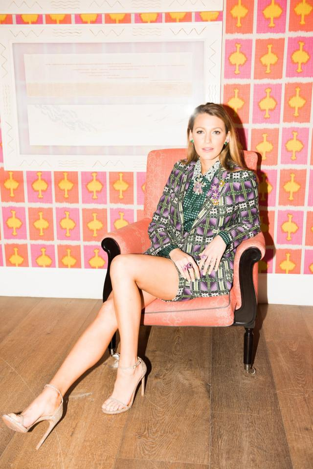 Blake Lively Sexy Feet Picture