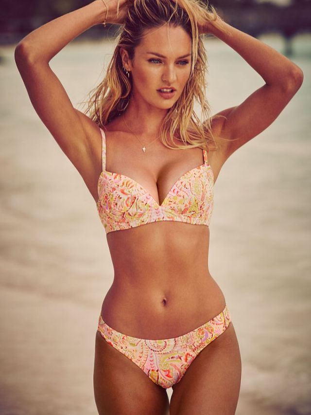 Candice Swanepoel on Beach