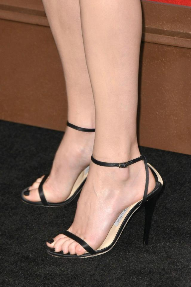 Charlize Theron Beautiful Feet Image
