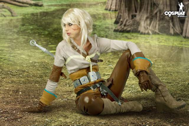 Ciri on Witchler Cosplay