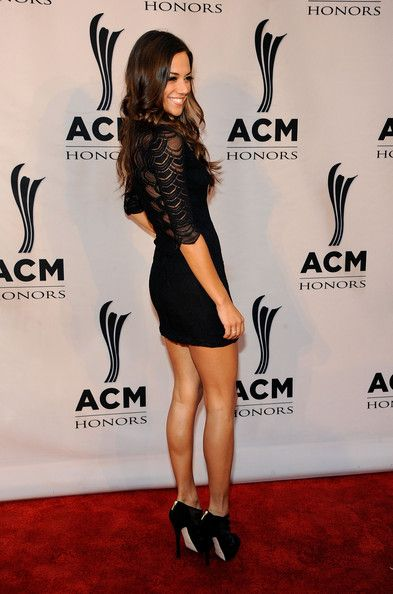Jana Kramer Hot in Black