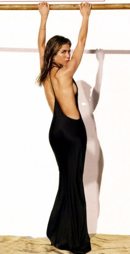 Jennifer Aniston Sexy Back