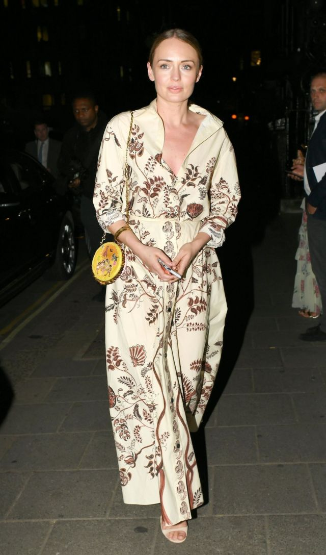 Laura Haddock on the Party