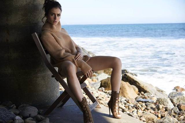 Lily Collins hot photos