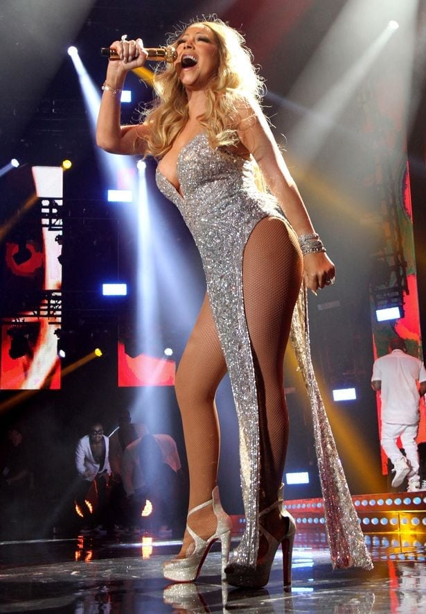 Mariah Carey feet beautiful photos