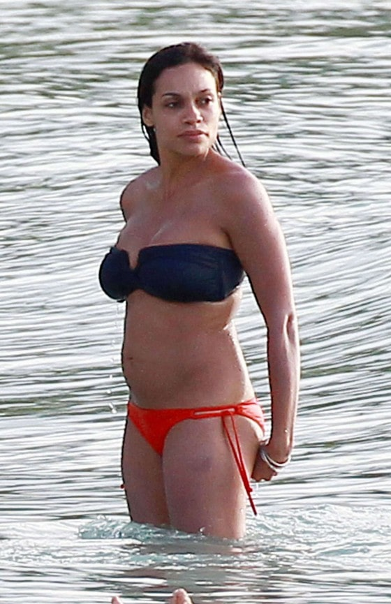Rosario Dawson on Beach