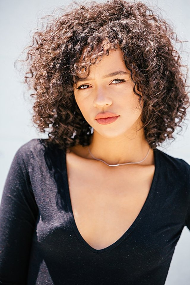 Taylor Russell Curly Hair