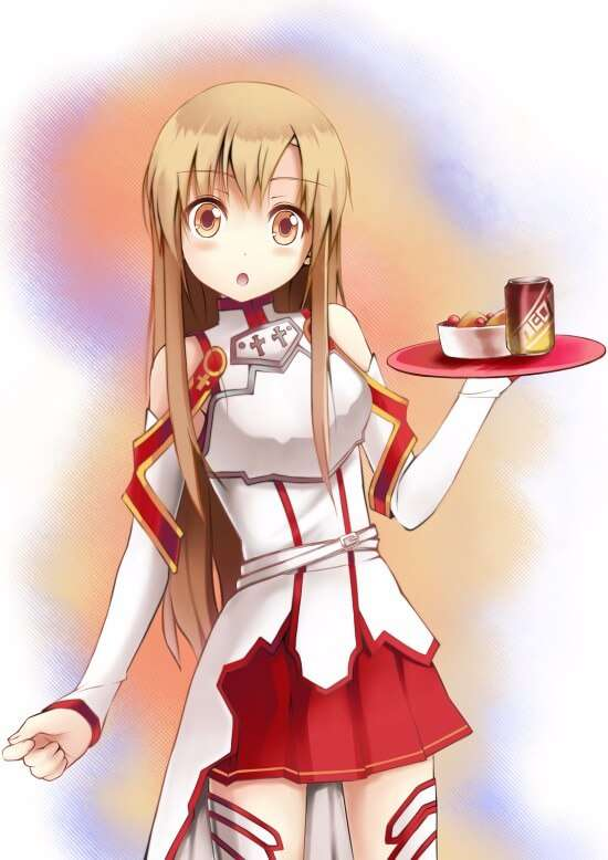 Yuuki Asuna awesome dress