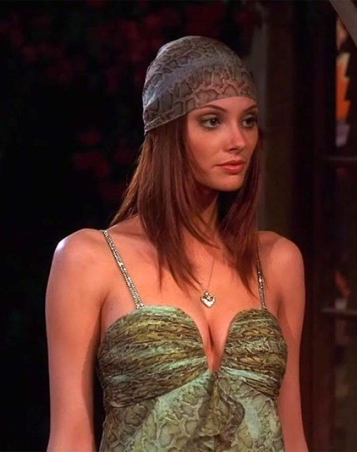 april bowlby hot cleavage