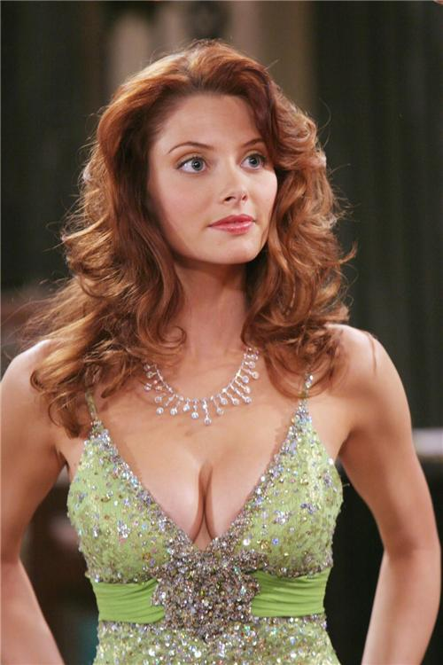 april bowlby sexy cleavage