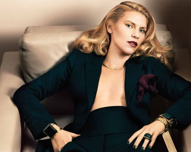 claire danes cleavage