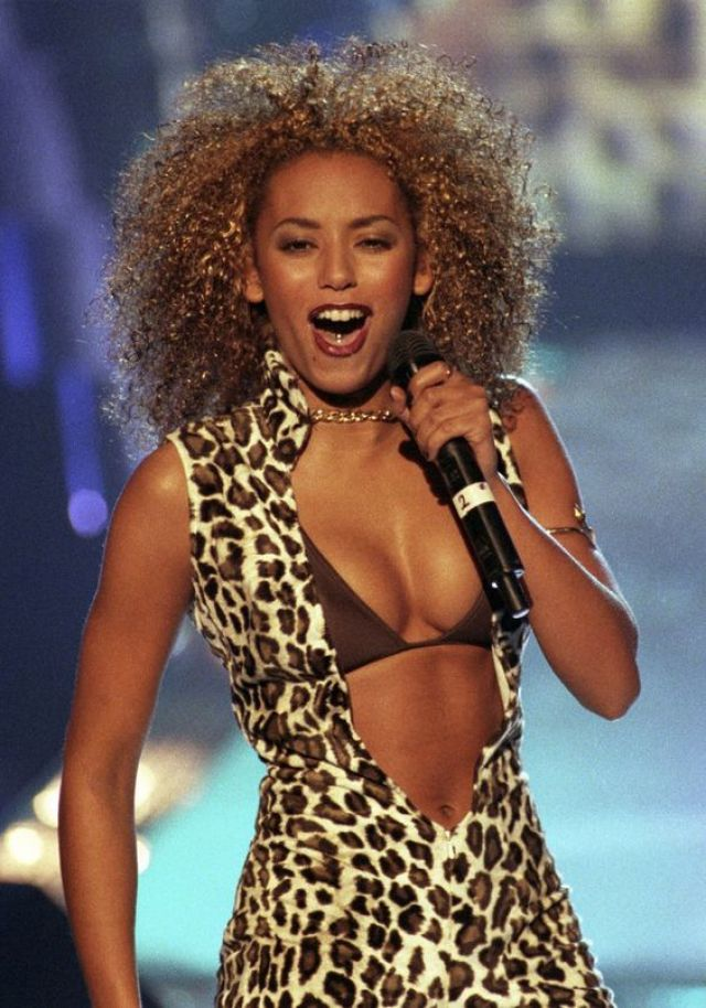 mel b hot cleavages