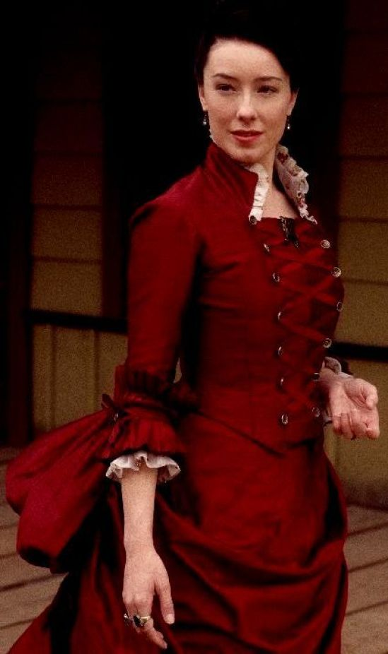 molly parker red dress pics