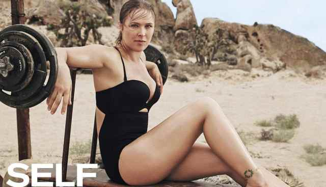 ronda rousey thighs