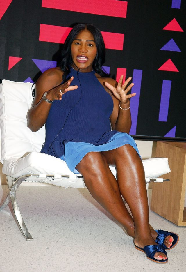 serena williams feet pictures