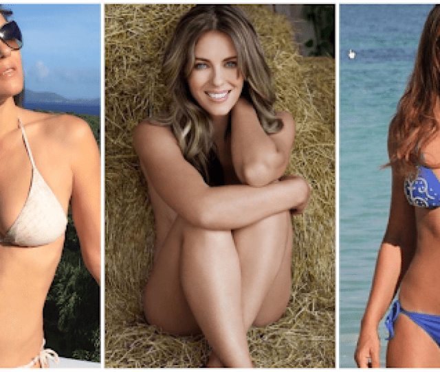 Sexiest Elizabeth Hurley Bikini Pictures Will Make You Want Her Now