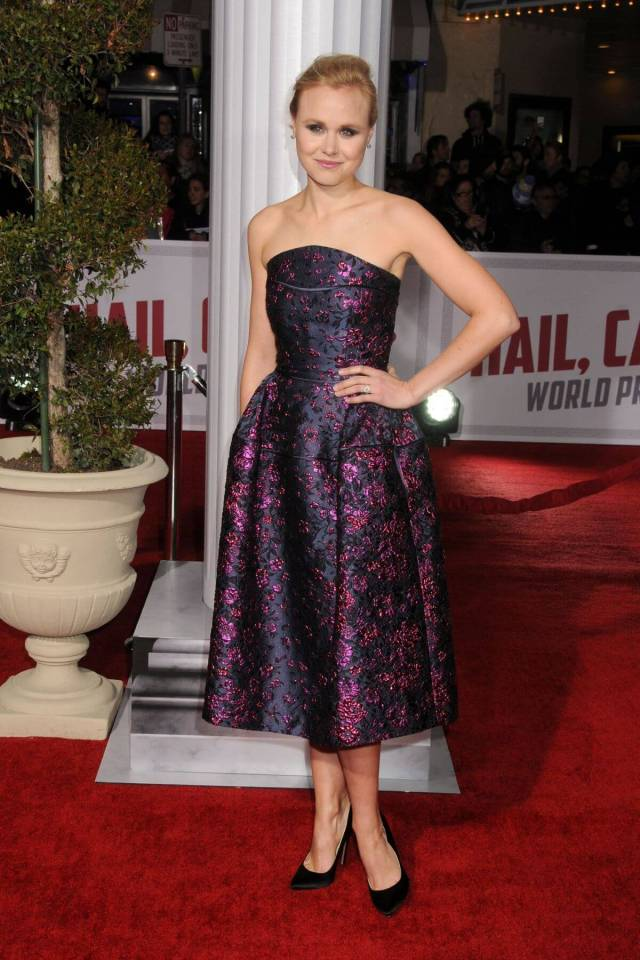 Alison Pill awesome dress