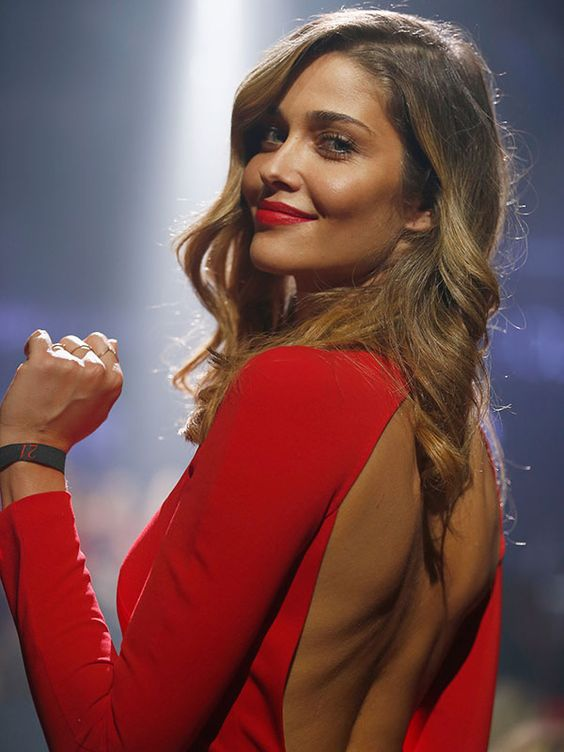 Ana Beatriz Barros Hot in red Dress