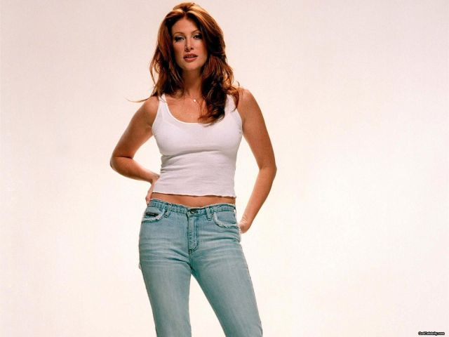 Angie Everhart hot white