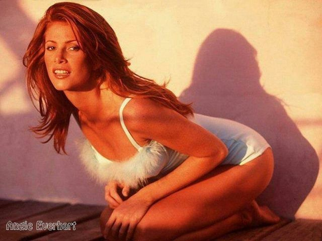 Angie Everhart hot