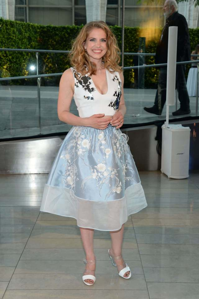 Anna Chlumsky awesome dress pic