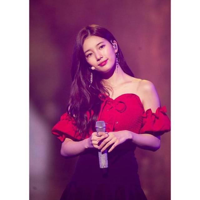 Bae Suzy on Mike