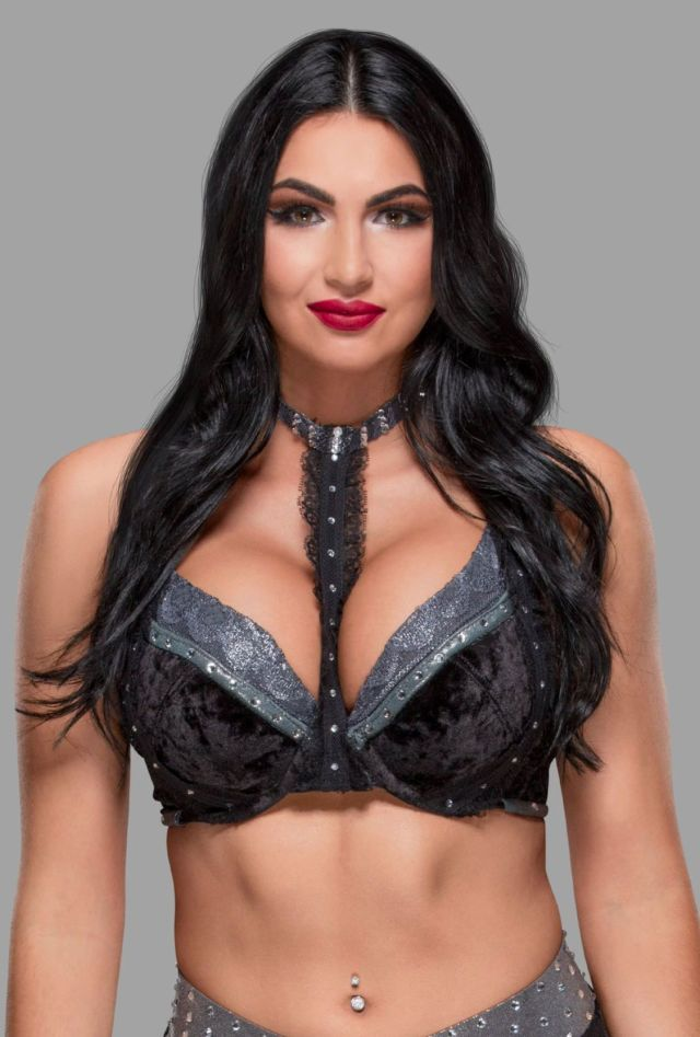 Billie Kay sexy cleavages