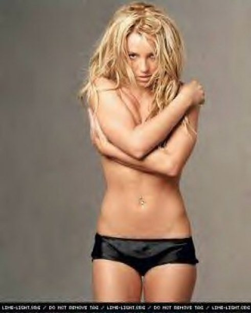 Britney Spears too hot picture