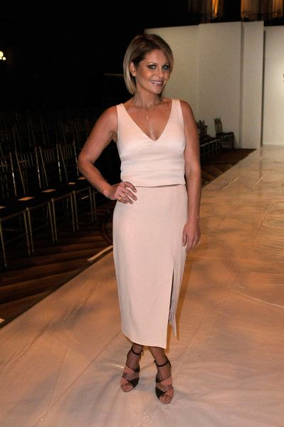 Candace Cameron-Bure Hot in White Dress