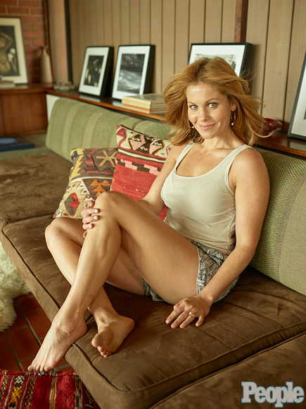 Candace Cameron-Bure Sexy Toes
