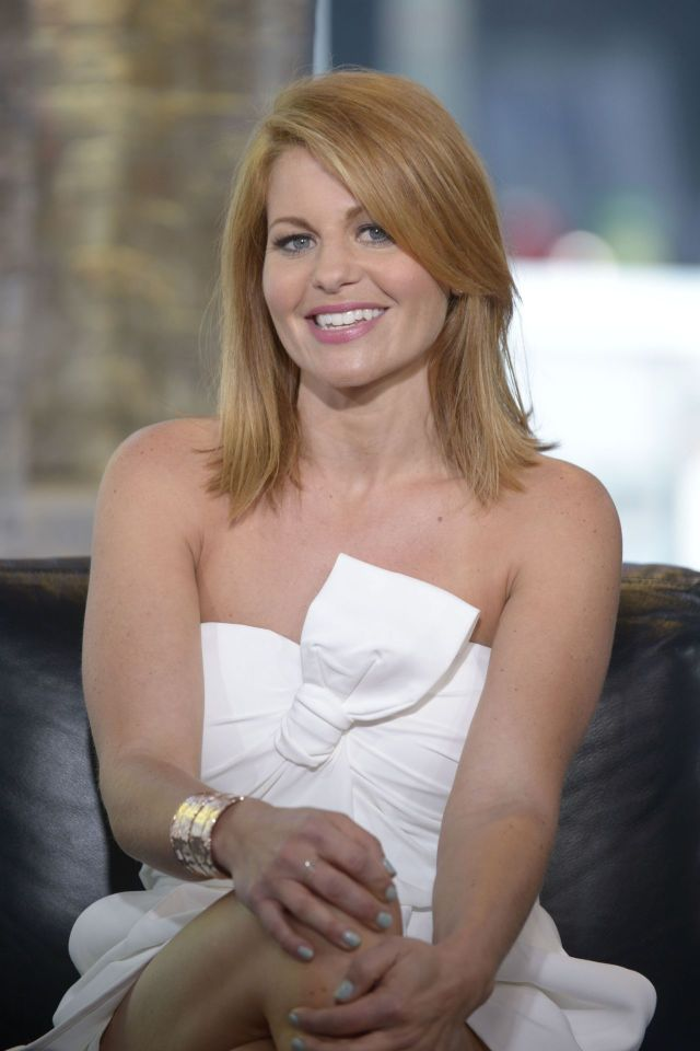 Candace Cameron-Bure on Interview