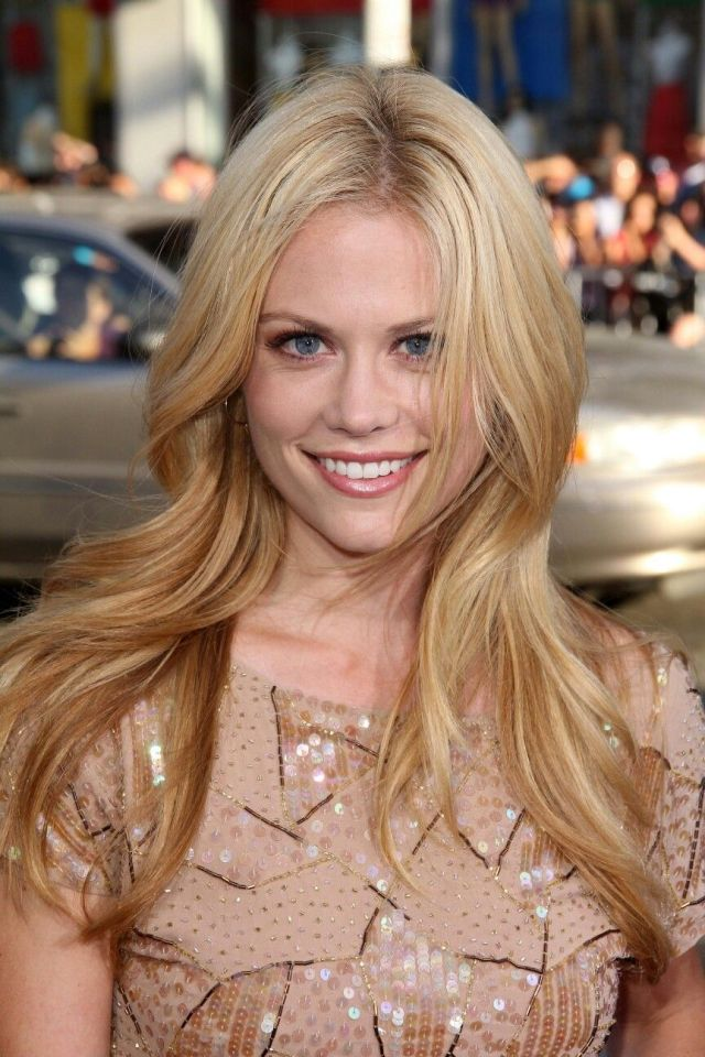 Claire Coffee hot smile