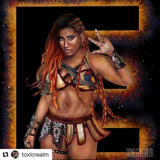 Ember Moon hot photos