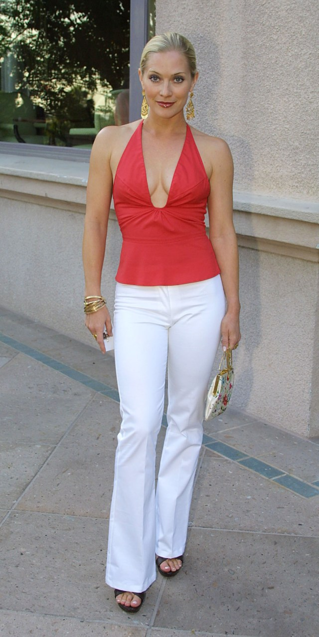 Emily Procter hot cleavage pic