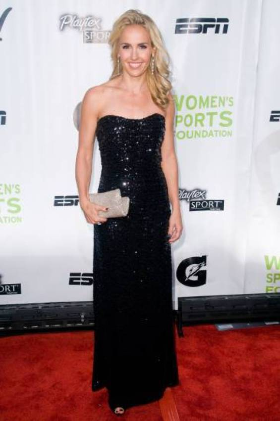 Heather Mitts black dress awesome