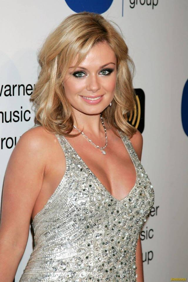 Katherine Jenkins hot cleavages pic