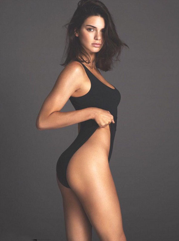 Kendall Jenner sexy side look