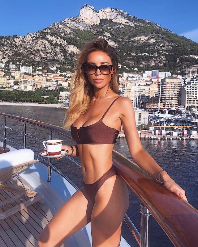 Lauren Pope on Boat