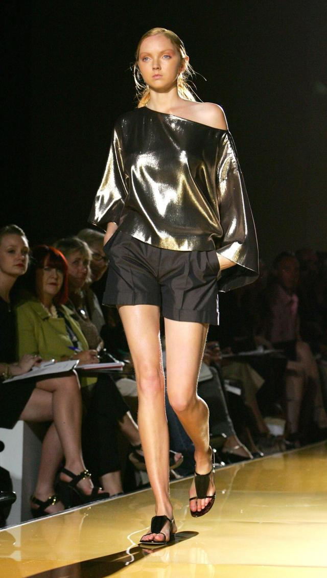 Lily Cole hot thigh