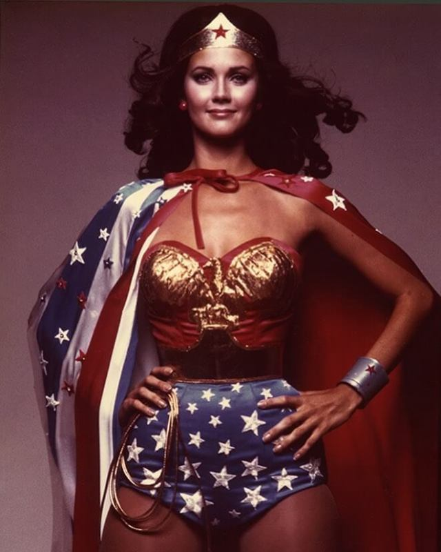Lynda Carter hot busty photos