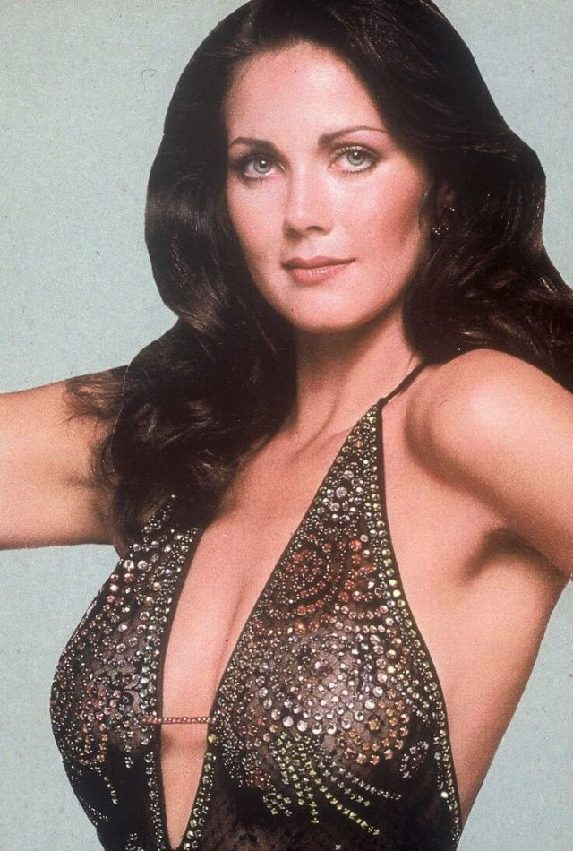 Lynda Carter hot butts