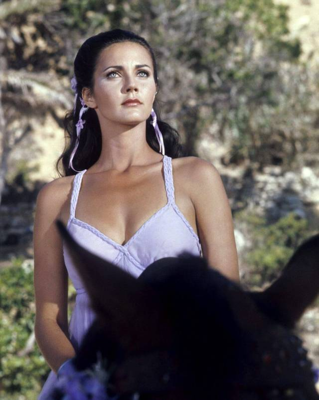 Lynda Carter sexy busty picture