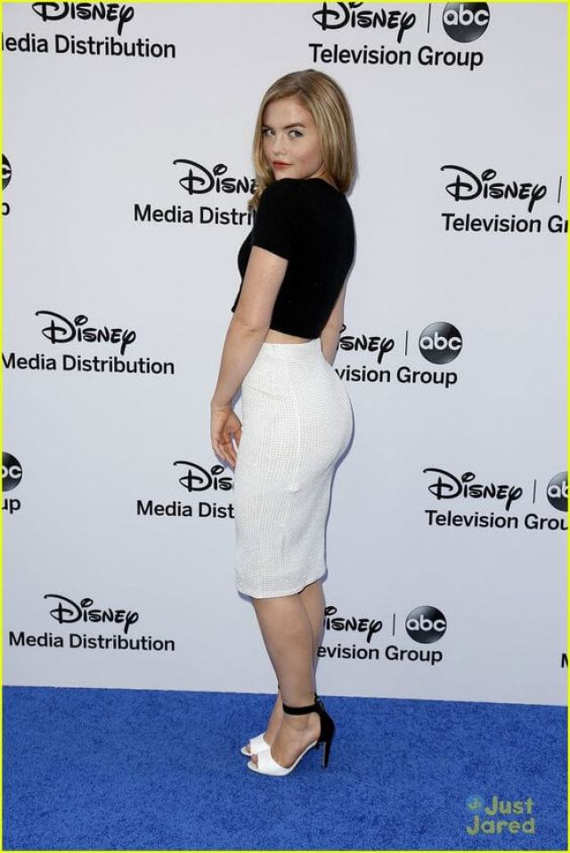 Maddie Hasson hot side pic