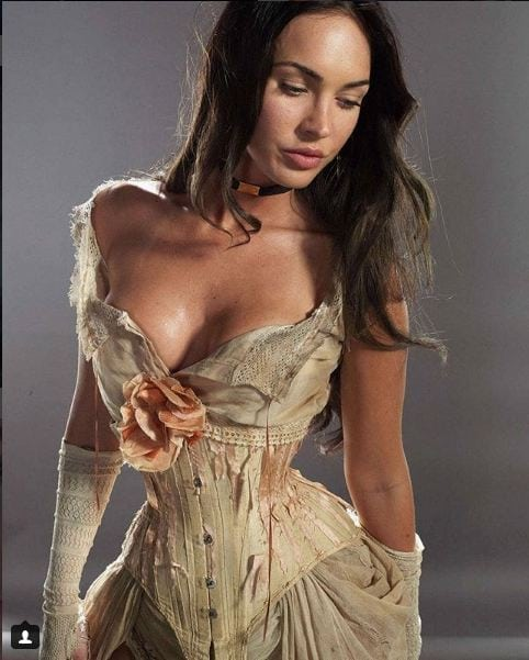Megan Fox too sexy clevage