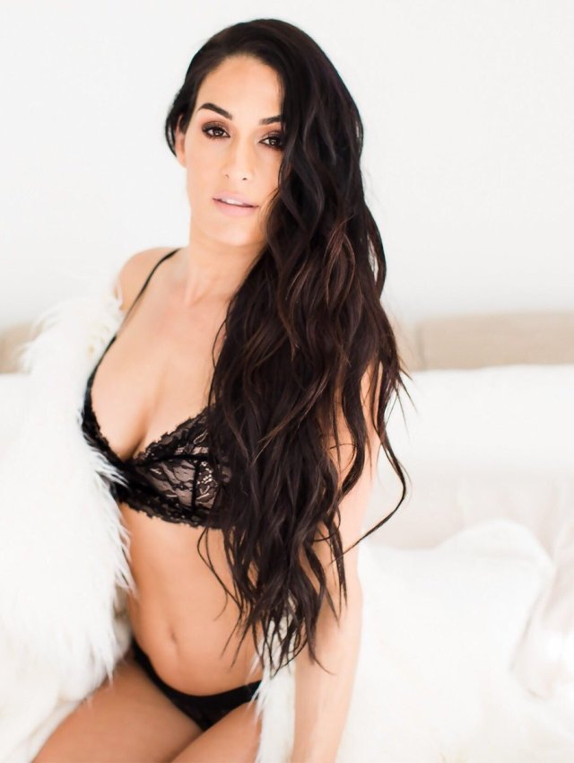 Nikki Bella cleavages awesome (3)