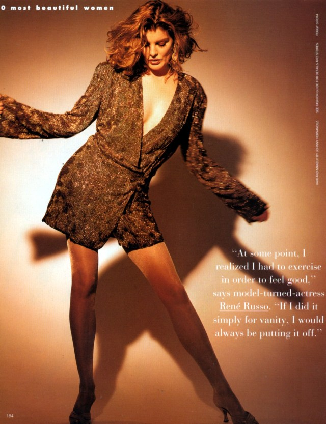 Rene Russo too sexy