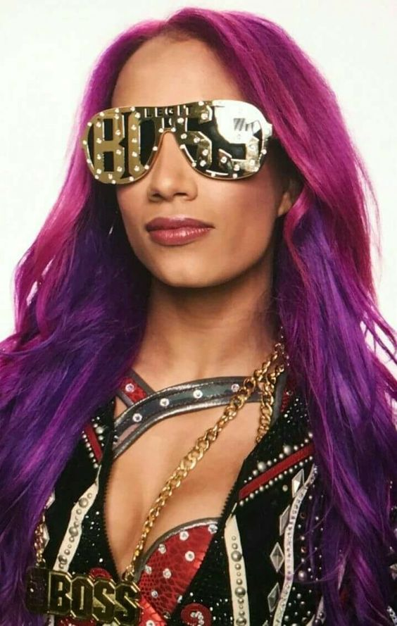 Sasha Banks Hot in Gaugle